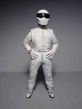 WHITE  STIG  TOP  GEAR  1/18  UNPAINTED  FIGURE   BY  VROOM  FOR  GT  SPIRIT