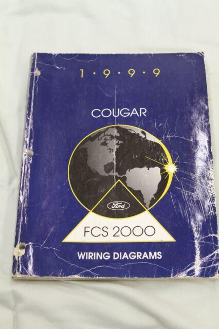 1999 Mercury Cougar Factory Wiring Diagrams