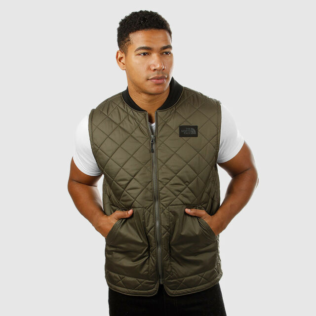 ddb7755ec64d The North Face Men s Cuchillo Vest Taupe Green Size XXL NWT  99