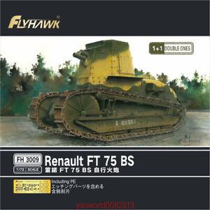 Flyhawk-1-72-FH3009-Renault-FT-75-BS-Unassembled-Model-Kits-1-1-Double-Ones