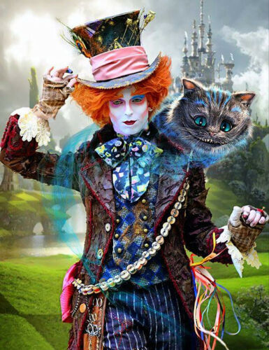 Fashion DIY 5D Diamond Painting Clown Cat Castle Full drill Embroidery Art 4025Y