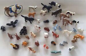 Playmobil-animal-bundle-farm-zoo-woodland-deer-swan-monkey-horse-owl-dog-bird
