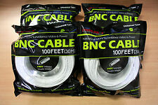 New 2 High Quality 150FT BNC Extension CCTV Cable for Samsung,Kguard,Swann,Lorex