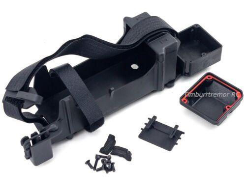 Arrma Tailon 6S BLX Updated Battery Tray Straps /& Radio Box Set Kraton Typhon