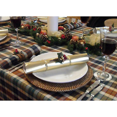 "59x102"" COUNTRY CHRISTMAS TABLECLOTH - 8 SEATER"