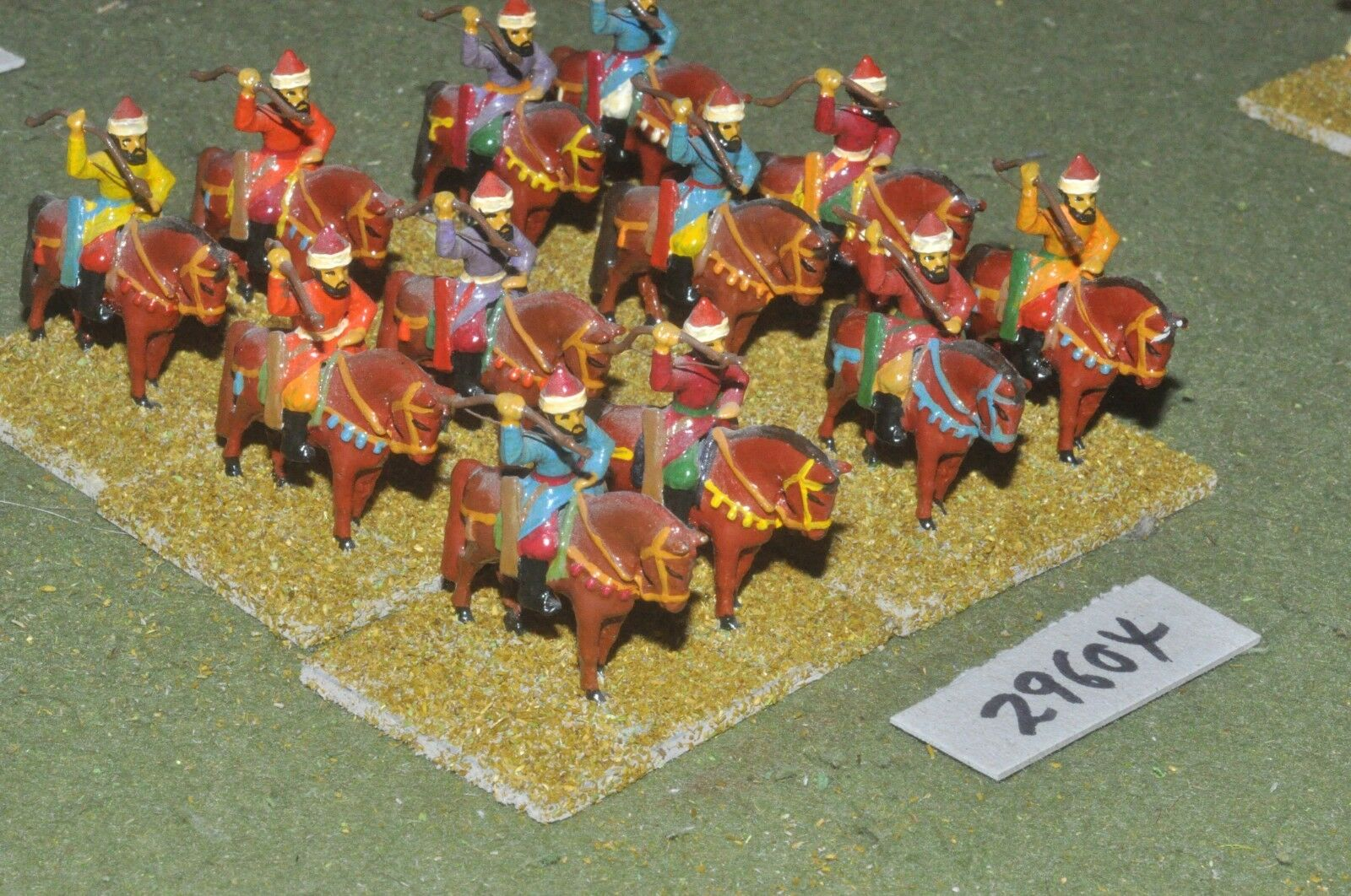 25mm medieval   saracen - light 12 figures - cav (29604)