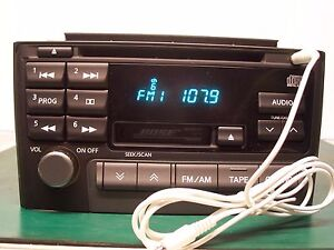 Image Is Loading 2000 Bose Nissan Maxima Radio Cd Pn 2281d