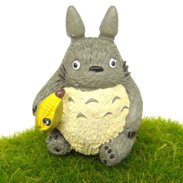 Totoro Miniature Toy Fairy Garden Terrarium Cartoon Figurine Statue Home Decor d