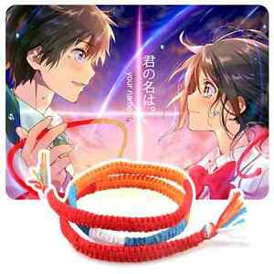 Kimi No Na Wa Your Name Taki Miyamizu Mitsuha 3 Layers Couple Lovers