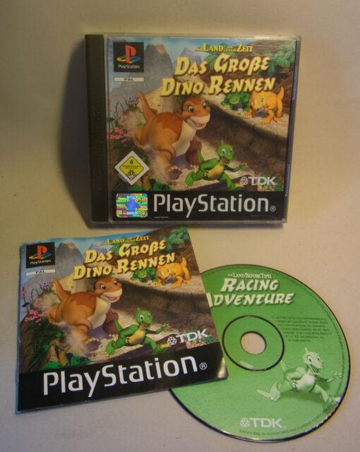 Sony Game Spiel Playstation 1 One PS Das Große Dino Rennen
