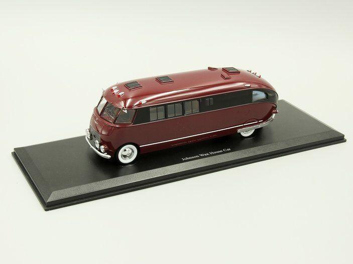 Autocult 1 43 Johnson Wax casa coche, rosso oscuro, usa, 1939
