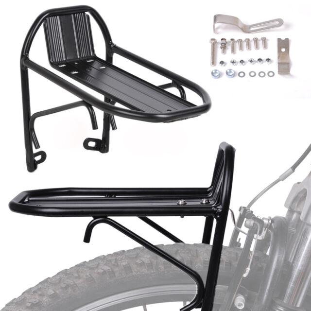 Steco Fahrrad Gepäckträger Comfort für 26 28 Zoll vorne Träger Vorderrad