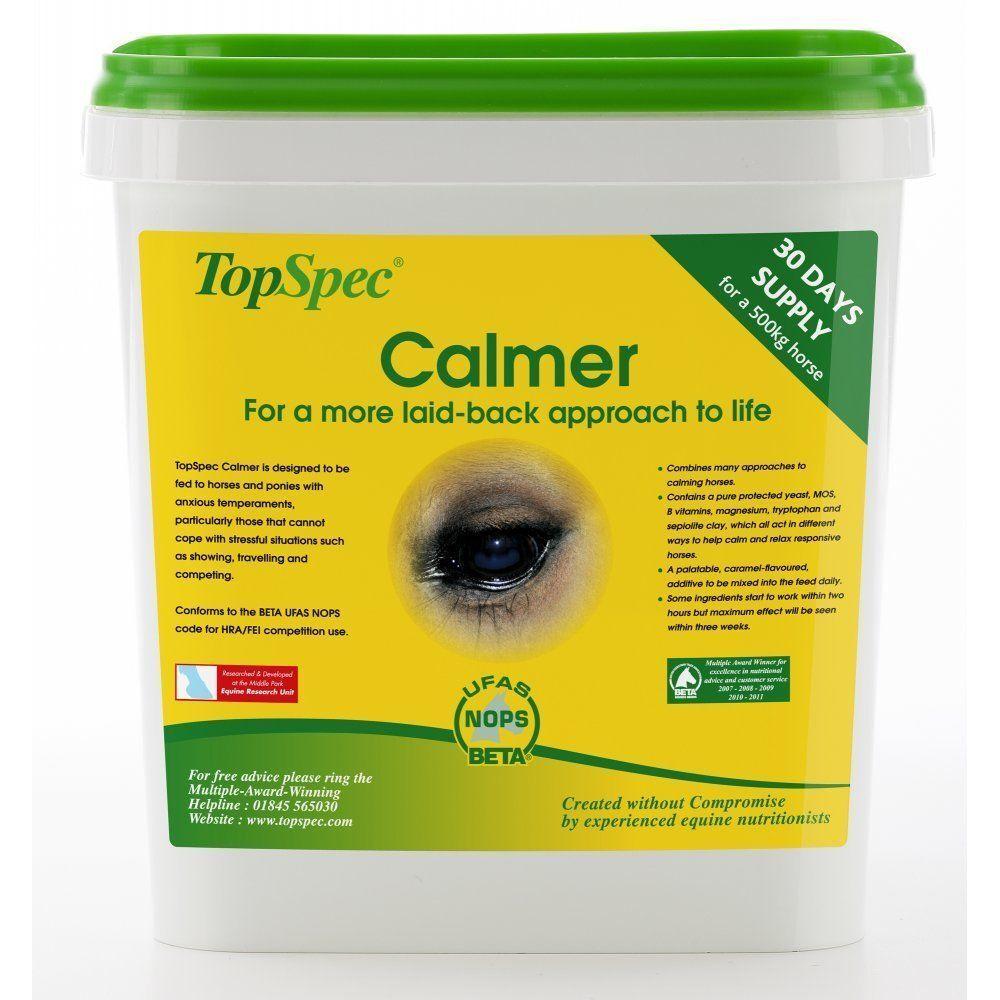Top Spec Calmer 3kg Horse Supplement FREE UK Shipping