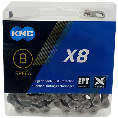 KMC X8-EPT Eco Proteq 5 6 8 Speed Bike Chain Rust Proof 650 hr salt test 7