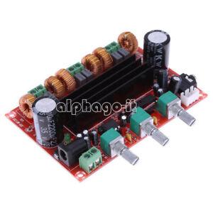 TPA3116D2-50Wx2-100W-2-1-Channel-Digital-Subwoofer-Power-Amplifier-Board-12-24V