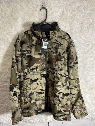 1320252-999 Hunting BNWT Barren Camo Men/'s Size LG Under Armour Grit Jacket