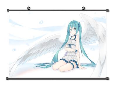 "Hot Anime Vocaloid Hatsune Miku Cosplay Decor Poster Wall Scroll 8/""x12/"" P214"