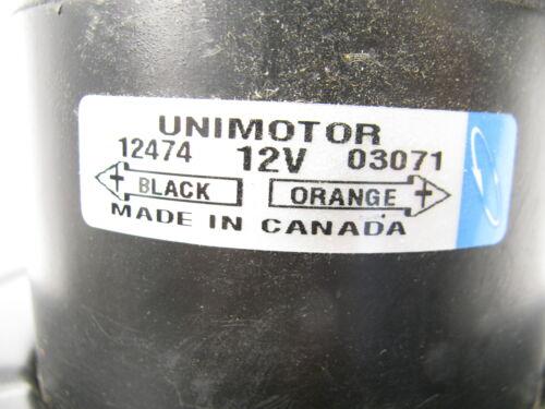 Unimotor 12474 HVAC Blower Motor Without Wheel Front