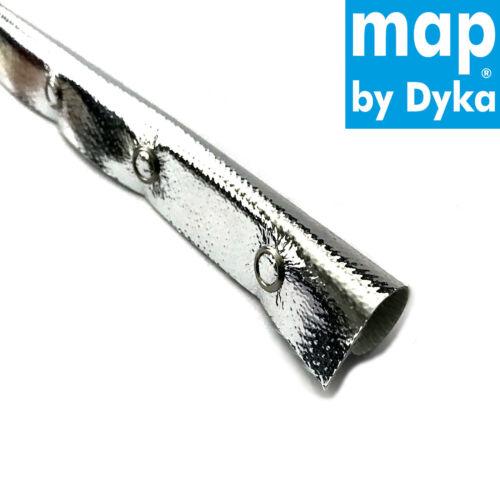 0,9 m E-Glas Hitzeschlauch ID23 mm Druckknopf 800°C Kabelschutz Thermo Schlauch
