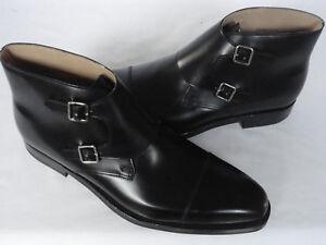 mocassins en la Bottes noire hommes formées des main Oxford Oxford à cuir chaussures souple la main à Aq7q6