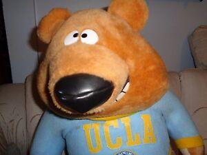 big plush doll figure 19 ucla bruins university of california