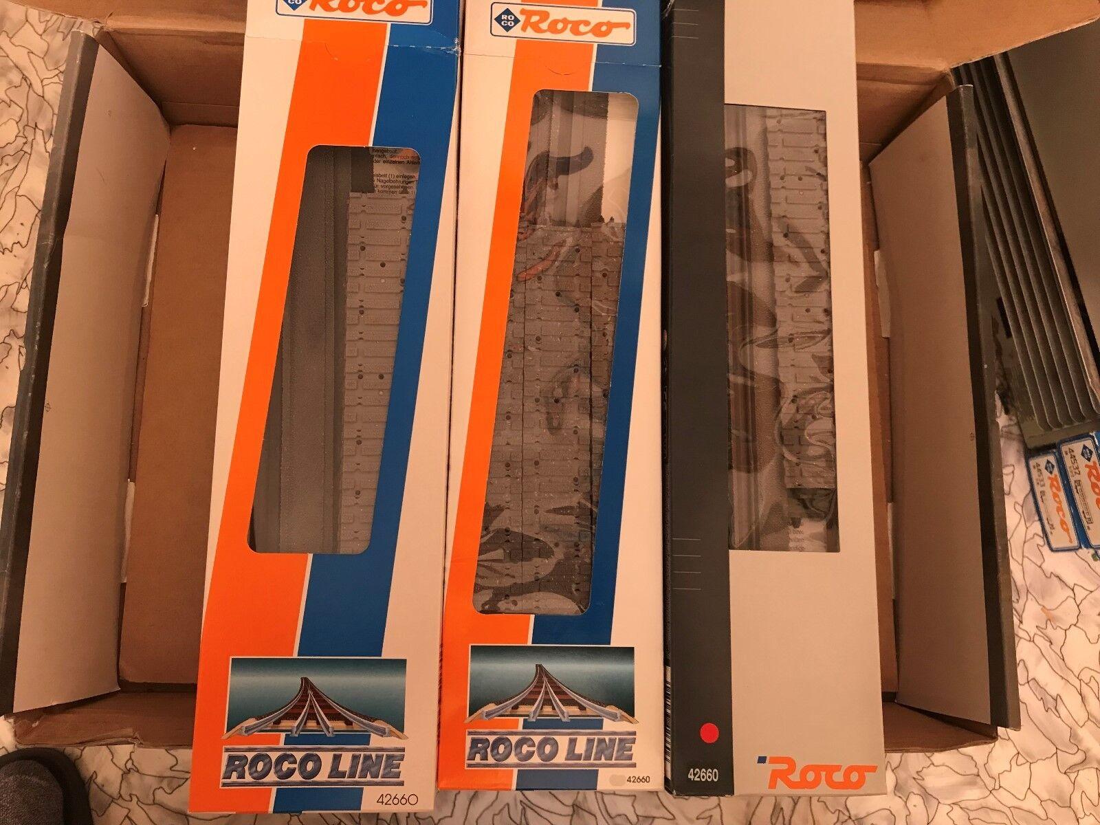 Roco 42660 H0 3 x Gleisbettung für Flexgleis 42400  NEU  OVP  | Verschiedene
