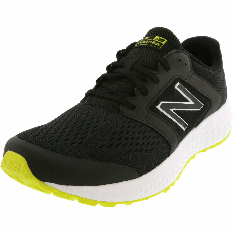 New Balance Men's M520CR5 Athletic Running Shoe Size 11.5 Black/Yellow