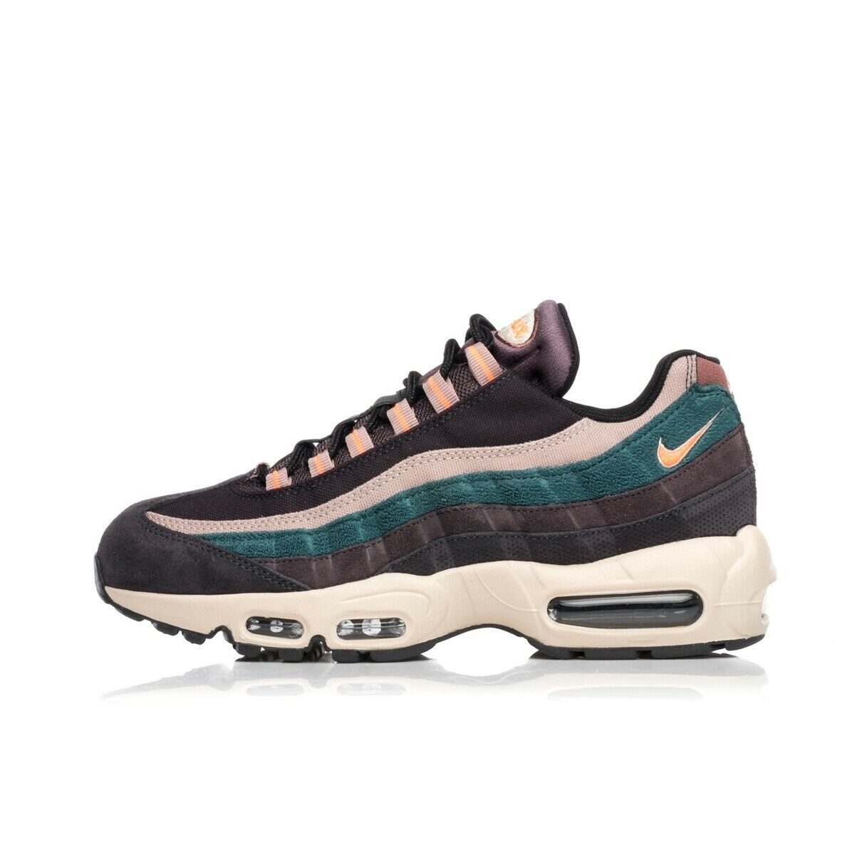 NIKE MAX 95 Premium 538416-018 Bright AIR Mango 97 98 180 1 93 270 reaccionar