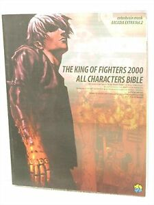 KING-OF-FIGHTERS-2000-Characters-Bible-Guide-Neo-Geo-Book-EB10