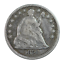 thumbnail 1 - 1858 Seated Liberty Half Dime Fine Condition