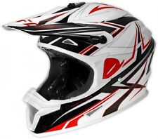 UFO Spectra Boost Motocross MX Enduro Helmet -  Large 59-60cm White Black Red