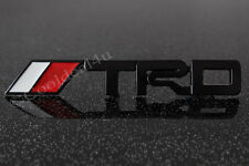 TRD Metal Emblem Black Logo Sticker Badge for SUV Sports Car 3D Racing :Big
