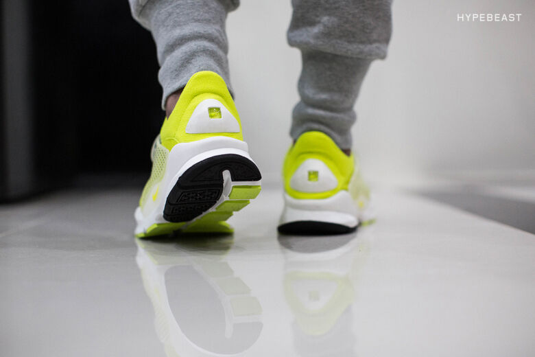 Nike sock dardo sp volt vertice flyknit design 686058-771 frammento bianco