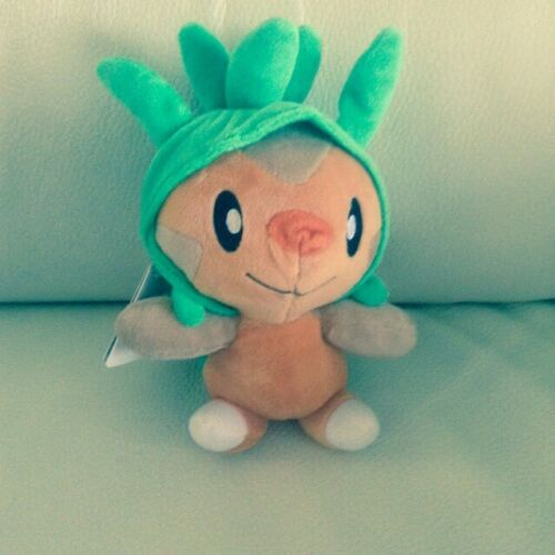 "UK Soft Toy With Tag New 8/"" Banpresto Chespin Pokemon Plush"