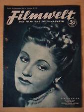 FILMWELT 51/52- 24. Dezember 1941 (2) Gisela Uhlen A.Hitler Japan-Filme Violanta