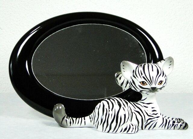 Miroir Miroir Miroir chat de collection Zebra Kitty - Goebel 81d41f