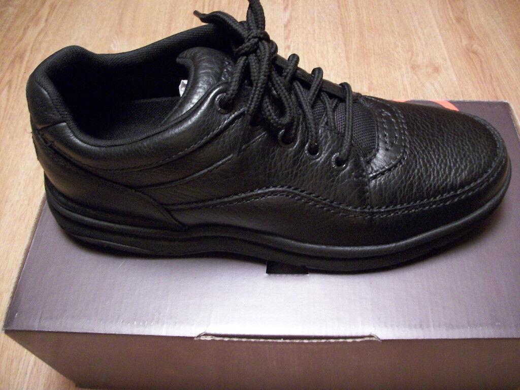 Rockport Para Hombre World Tour caminar Casual Zapato Negro Ancho 2e Ancho Varios Tamaños