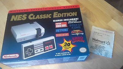 Nintendo NES Classic Edition Console 30 Classic Games NEW!! In hand New Unopened
