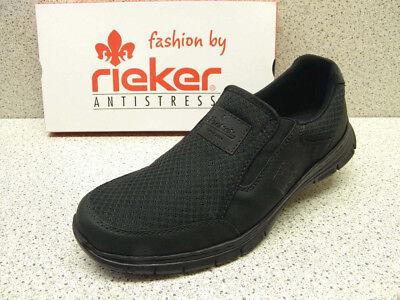 rieker ® Top Preis Slipper schwarz + gratis Premium Socken WUnmj
