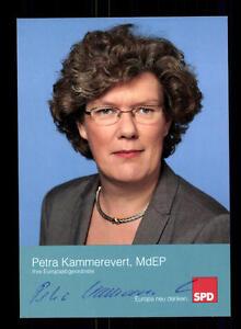 Politik Petra Kammerevert Autogrammkarte Original Signiert ## Bc 107013 äRger LöSchen Und Durst LöSchen