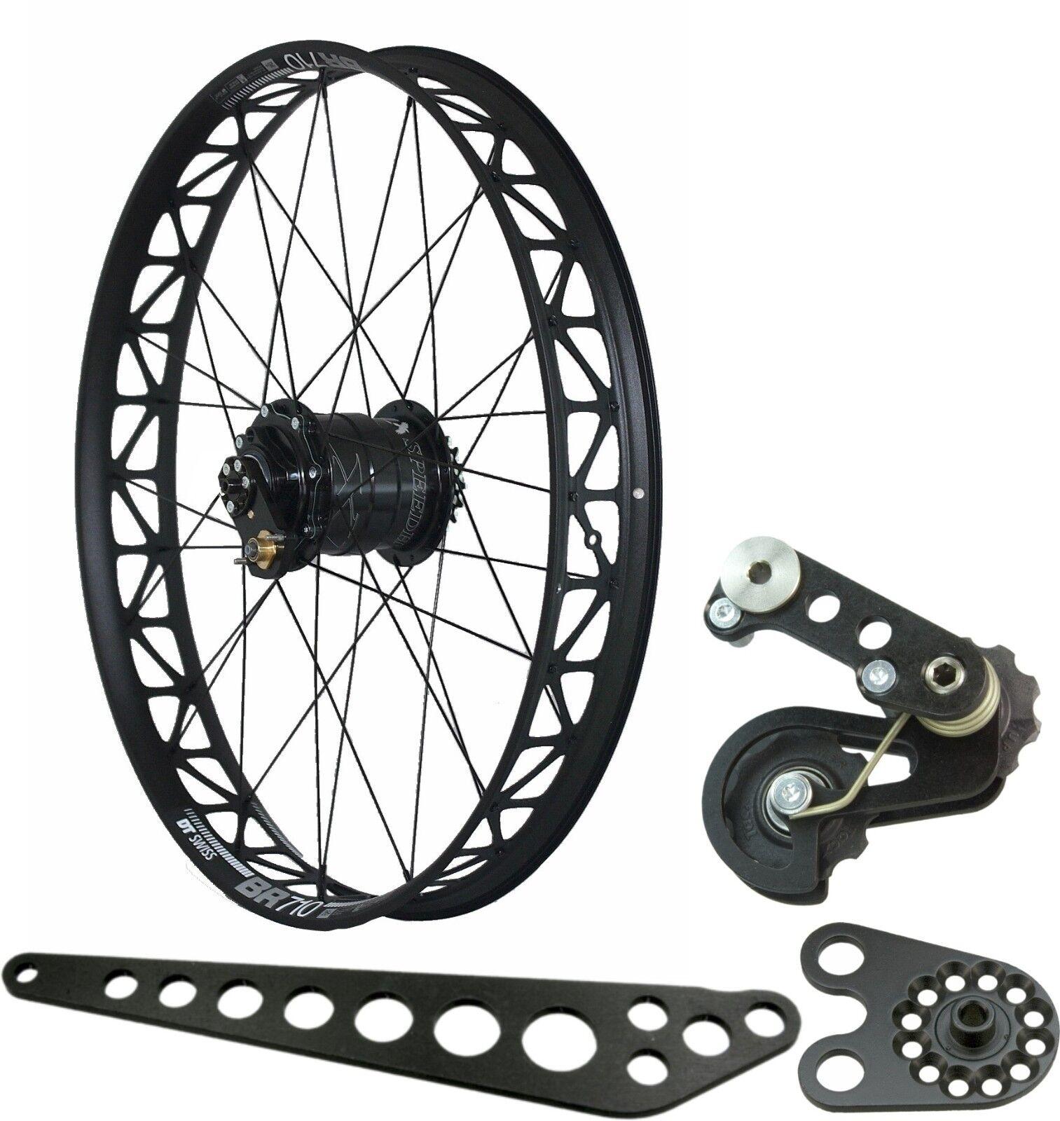Grand vélo roue  arrière avec Rohloff 8022 XL Dimension intégrée 170mm dt-swiss  low prices