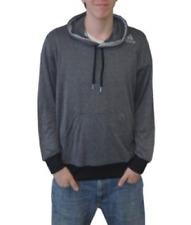 Adidas Men/'s Ultimate Base Hoodie  Dark Shale//Light Grey