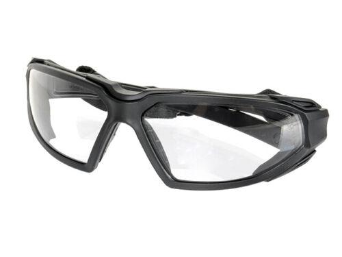 Tactical Schutzbrille PYRAMEX Highlander H2X Glas Klar Devgru Airsoft