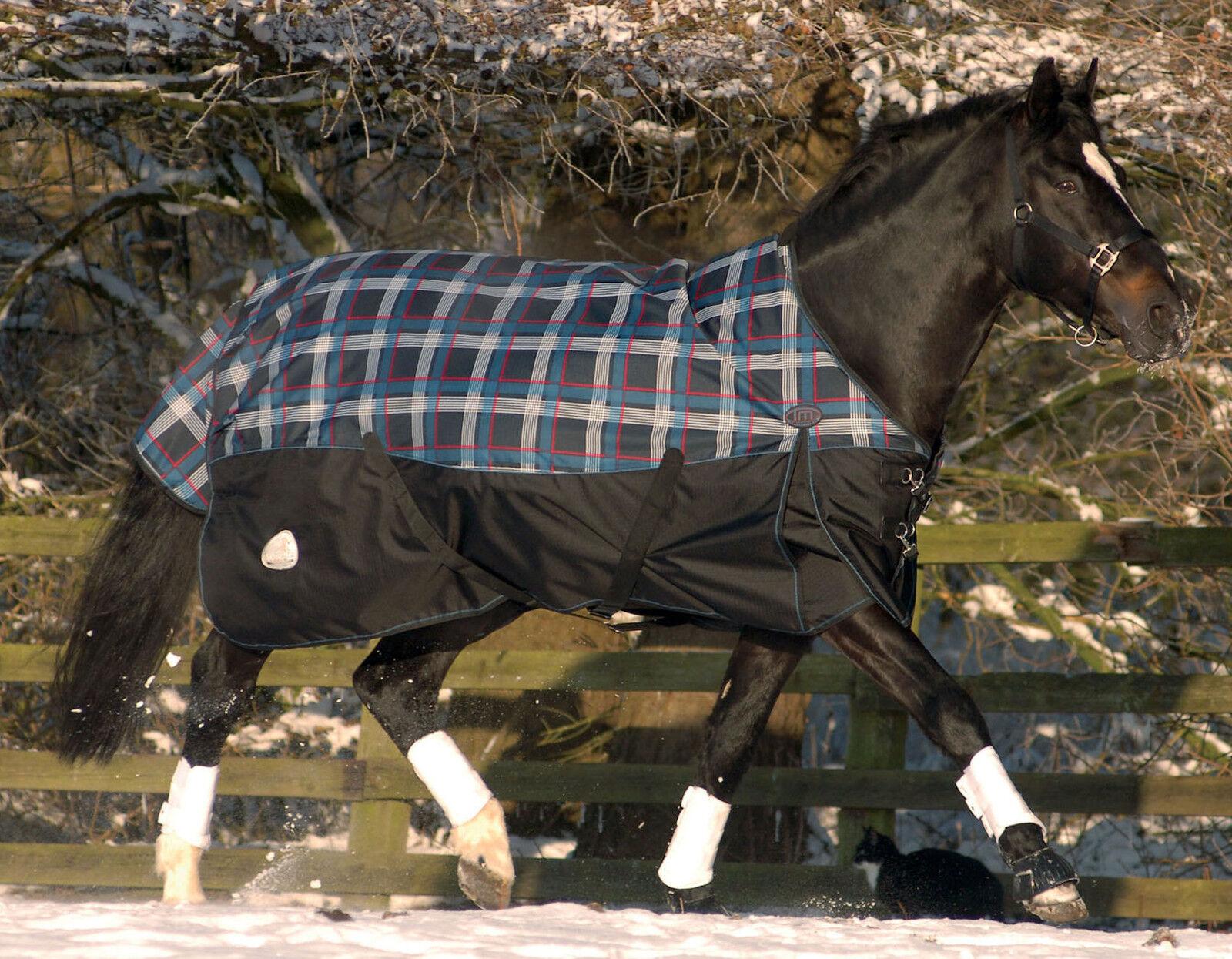 Masta Turnoutmasta 350g 600 Denier Winter Heavyweight Horse Turnout Rug Blanket