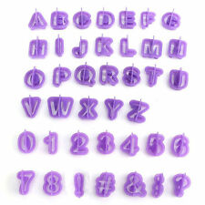 40pcs Icing Cutter Mould Alphabet Number Letter Fondant Cake Decor Set Optimal