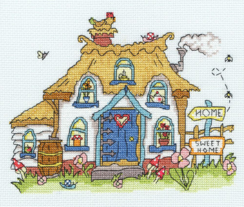 Bothy Threads Cross Stitch Kit-sew dinky Cottage