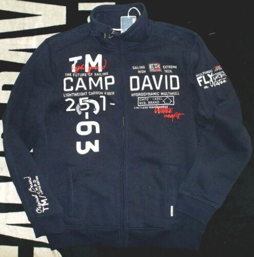 Brandneu 2019 Camp David Sweatjacke Jacke M L XL XXL XXXL 3XL Neu