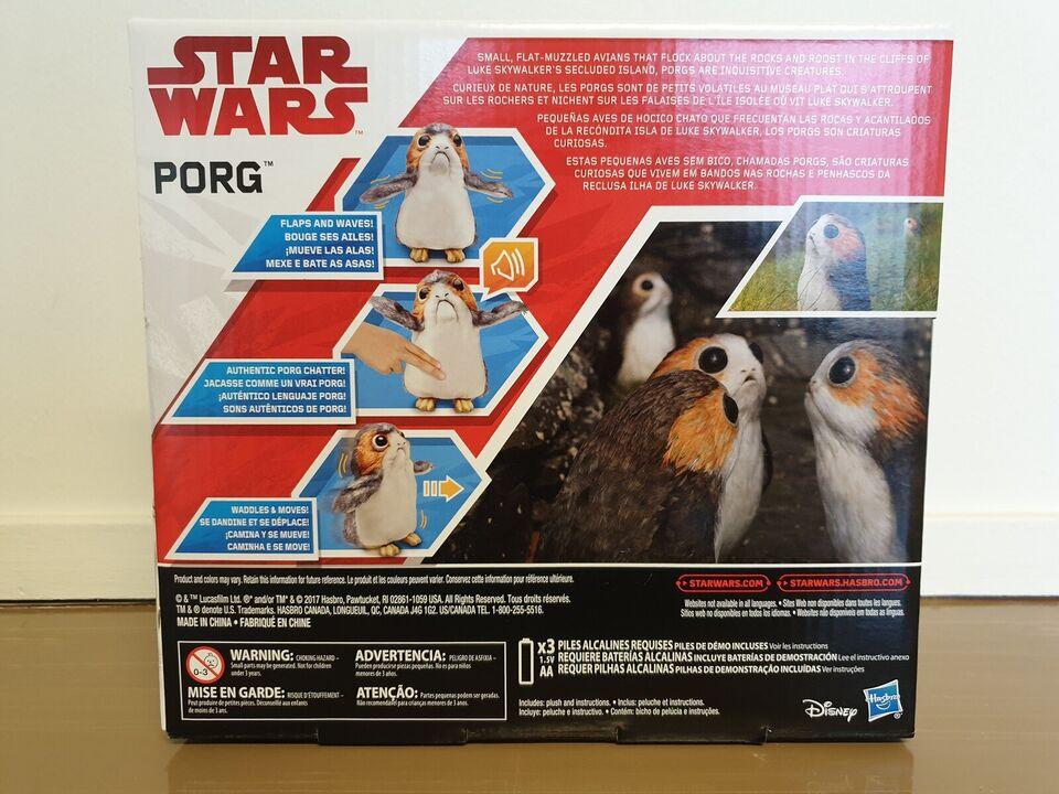 Star Wars Porg, gående og snakkende