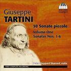 Giuseppe Tartini: 30 Sonate Piccole, Vol. 1 - Sonatas Nos. 1-6 (CD, Dec-2012, Toccata Classics)