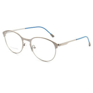 11fc34ea52 Image is loading Fashion-Woman-Man-Stainless-Steel-Eyeglasses -Designer-Vintage-